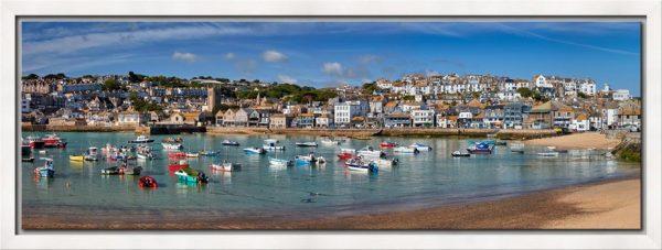 St Ives Harbour Morning - Modern Print