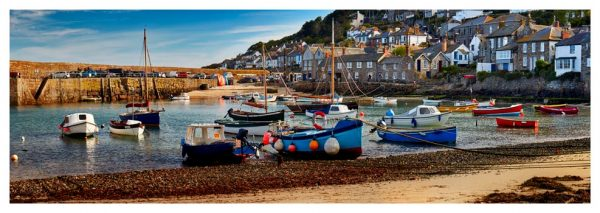 Mousehole Harbour Morning - Prints of Cornwall