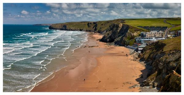 Watergate Bay Beach - Cornwall Print