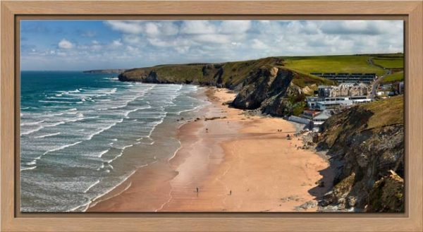 Watergate Bay Beach - Modern Print