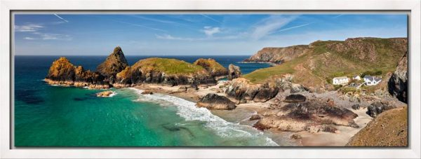 Kynance Cove and Cafe - Modern Print