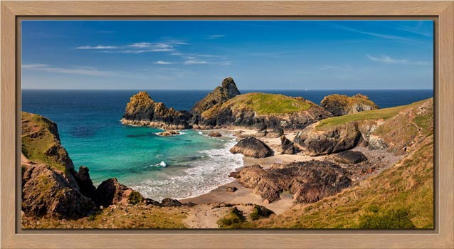 Kynance Cove Tropical Waters - Modern Print