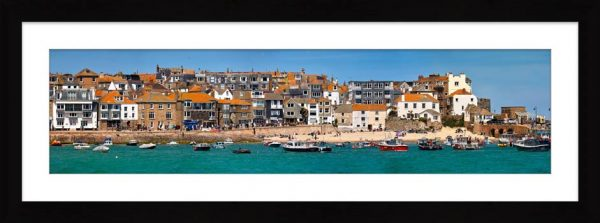 Wharf Road and Downalong - Framed Print with Mount