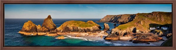 Kynance Cove Morning Sunlight - Modern Print