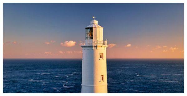 Trevose Head Lighthouse - Cornwall Print