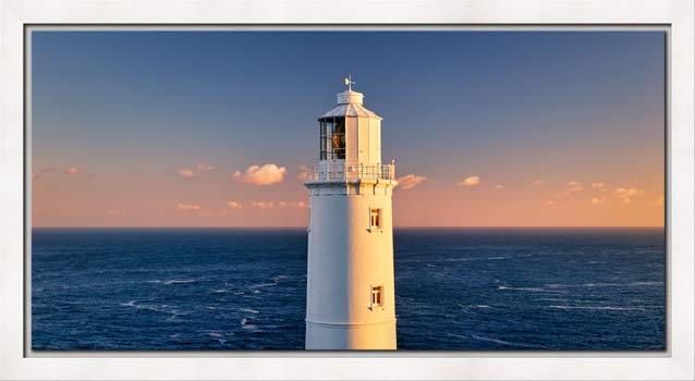 Trevose Head Lighthouse - Modern Print