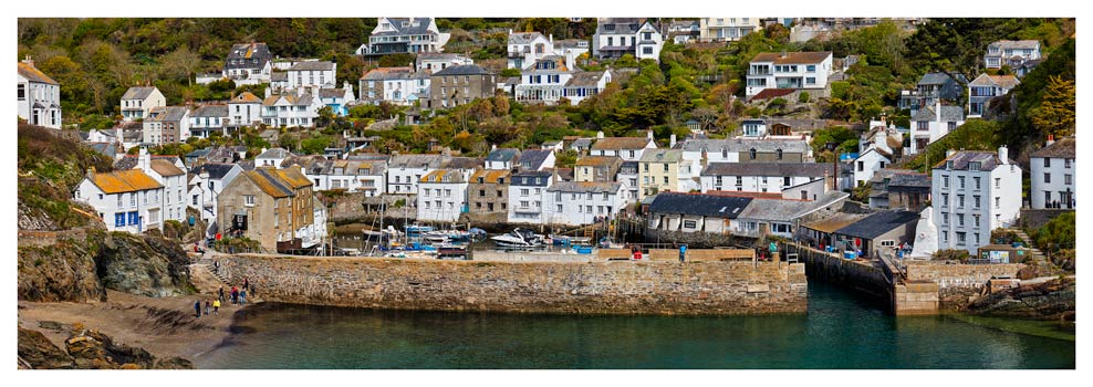 Polperro Reflections - Cornwall Print