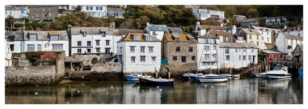 Harbour Cottages Polperro - Prints of Cornwall
