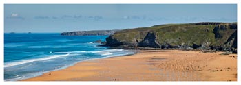 Watergate Bay Panorama - Prints of Cornwall