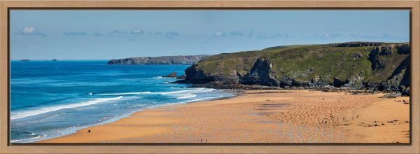 Watergate Bay Panorama - Modern Print