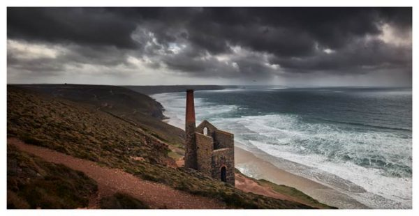 Wheal Coates Mine Ruin - Cornwall Print