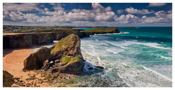 Black Humprey Rock - Cornwall Print