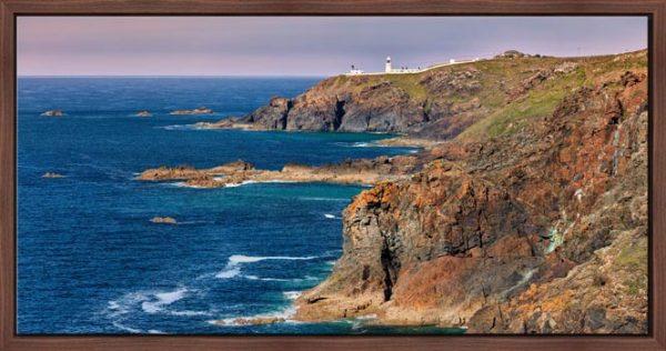 Pendeen Lighthouse Cliffs - Modern Print