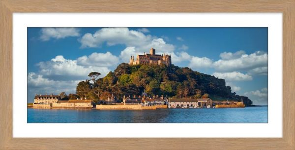 St Michaels Mount - Framed Print with Mount